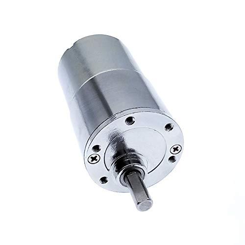 Duradero 12VDC 2/5 / 10/15/20/30/40/60/87/100/120/50/200/300/400/500/550/600 / 1000RPM Gear 37mm Motor de salida eje excéntrico Fina mano de obra, rendimiento estable. ( Color : 1000 , Size : 24V )