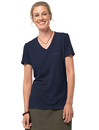 Jack Wolfskin T-shirt léger et respirant pour femme XXL bleu nuit