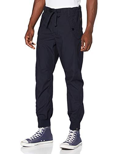 G-STAR RAW Herren Sporthose 3D Relaxed Trainer, Blau (Mazarine Blue C183-4213), 33W / 32L