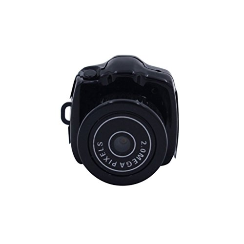 Uonlytech Mini-HD-Videokamera 480P tragbarer Camcorder-Digitalrekorder für Pocket DV DVR für den Außenbereich