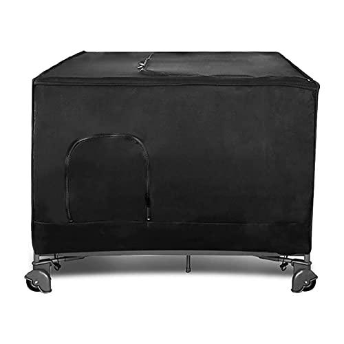 Rehomy Parasol portátil para cuna para cuna de viaje, funda de polvo para cama de bebé, apto para todas las camas rectangulares estándar, cochecito, silla de paseo