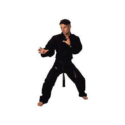 KD Elite Karate-Uniform, Schwarz, Herren, 0 US