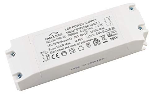 HuaTec Eaglerise Flackerfrei LED Trafo 30W - 50W 1050mA LED Netzteil Driver Treiber Transformator Flickerfree Konstantstrom