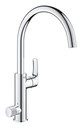 Grohe Blue Pure Eurosmart 31722000 Single-Lever Sink Mixer Tap with Filter Function Chrome