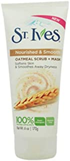 St. Ives Nourished & Smooth Oatmeal Scrub & Mask, 6 oz