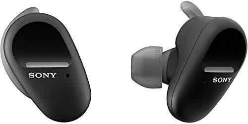 Sony WFSP800N/B Truly Wireless Sports in-Ear Noise Canceling Headphones (Renewed)