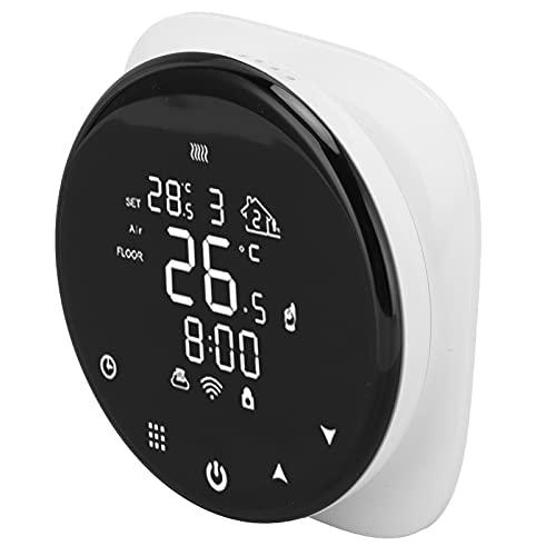 Controlador de temperatura, termostato de control remoto WiFi termostato programable termostato multiusos para dormitorio para oficina