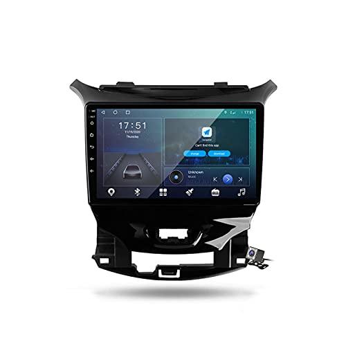 Buladala Android 9.1 GPS Navigation Stereo Radio para Chevrolet Cruze 2 2015-2020, 9' Pantalla Coche Media Player Soporte Carpaly Android Auto/5G FM RDS/Control Volante/Bluetooth Hands-Free,M500