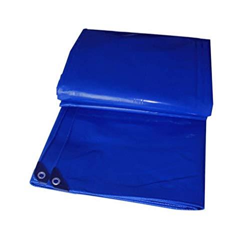 Schraper voor messen dik, stof, waterbestendig, zonwering, waterdicht, Oxford stof, afdekzeil voor buiten, auto, driewieler, lagers, blauw