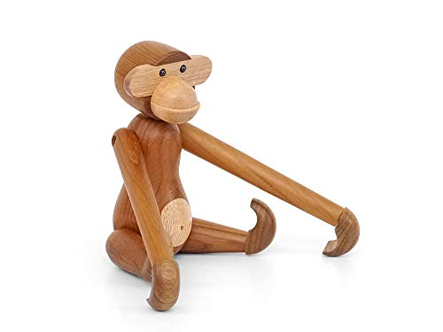 (hej!e) カイ・ボイスン モンキー 小 Kay Bojesen Monkey 置物 木制 動物 北欧雑貨 インテリア 人形 リプロダクト 干支 (20)