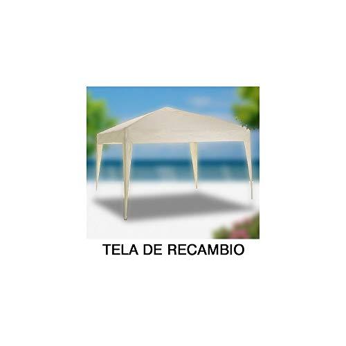 PAPILLON 8043621 Tela Recambio para Pergola Plegable, Blanco, 45x30x12 cm