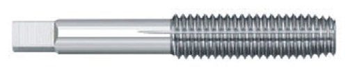 Titan TT82902 High Speed Steel Thread Forming Bottom Tap, Uncoated, 7/16' - 14', H8 Limit, 0.323' Shank Diameter, 1-7/16' Thread Length, 3-5/32' Overall Length