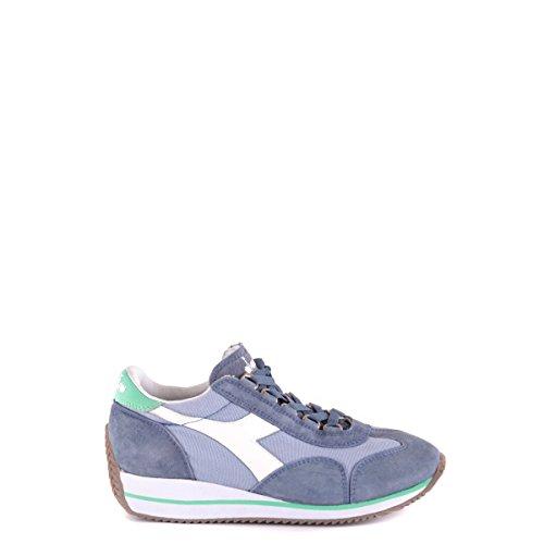 Diadora Heritage, Donna, Equipe W SW HH China Blue, Suede/Tessuto, Sneakers, Blu, 39 EU