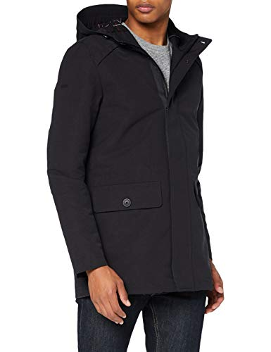 Superdry Iconic Parka, Midnight, XS Homme