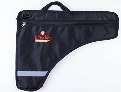 Tasche/Schutz für Panflöte mit 24-27 Rohre, profesionell mit Extrafach, Schulterschlaufe, Handschlaufe und Plaschke Instruments- Logo aus Südtirol/Italien