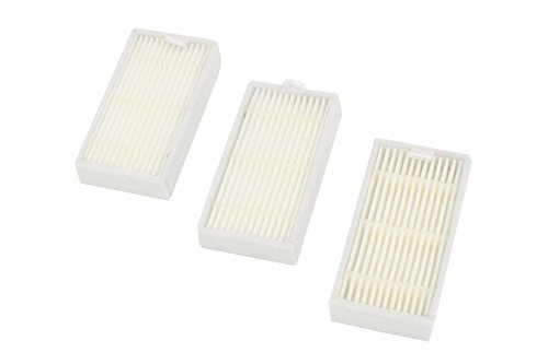 vhbw Ersatz Allergie Hepa Filter Set passend für Saugroboter Medion MD16192, MD18318, MD18500, MD18501, MD18600