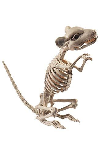 Smiffys Ratten Skelett, 9x28x33cm, Natur, 46908