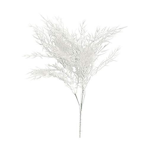 WANGYA Fleurs séchées 7 Couleurs Bulrush Naturel Séché Petit Pampas Grass Phragmites Plantes Artificielles Mariage Fleur Bouquet pour la décoration de la Maison Faux Fleurs Fleurs séchées pressées