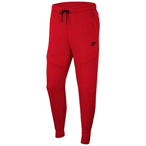 Nike Sportswear Tech Fleece Joggers para hombre - rojo - Small