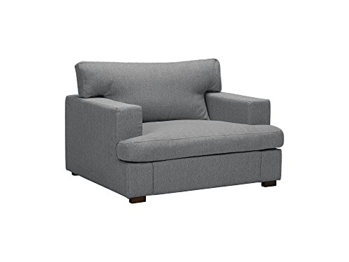 Windsor & Co Sessel, Daphne, 1 Sitzer, Hellgrau, 105 x 104 x 85 cm