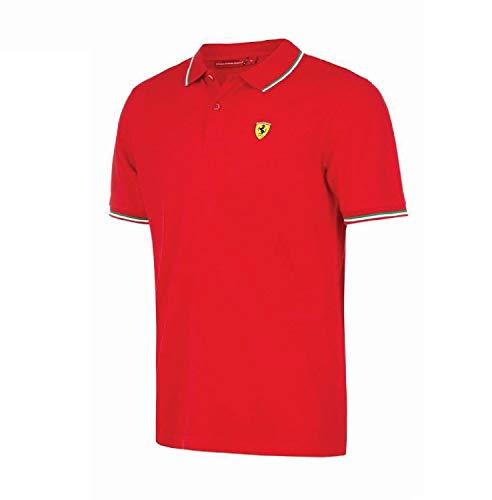 Ferrari - Polo - Maniche corte - Uomo Red X-Small