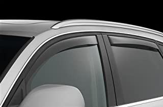 Jeep Grand Cherokee Laredo Limited Overland Wind DEFLECTORS Sun Visors RAIN Guards Exterior Trim Cover Set 2017 2018 2019
