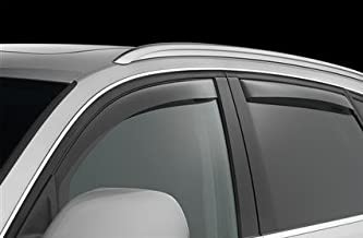 Honda Accord deflectores de Viento Viseras Lluvia Guardia Moldura Exterior Cover Set sedán de 4 Puertas 2013 2014 2015