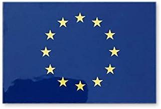 EU 欧州連合旗 ステッカー ( 屋外 対候 ・ 防水 シール ) (5075 約50x75mm)