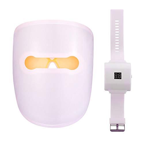 XMZWD Led-Gesichtsmaske, Ai Smart Watch Controller/Whitening Verjüngung/Sommersprossen-Falten/Anti-Aging, Für Gesichtsmaske Maschine Lichttherapie (Einzeln Lichter Von Rot/Blau)
