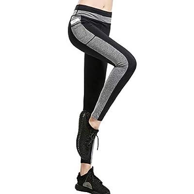 IMIDO Women's Yoga Capri Pants Sport Tights Wor...
