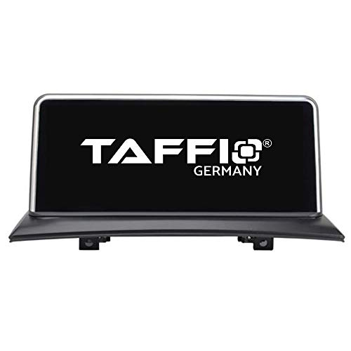 TAFFIO® Android 9 Touchscreen GPS Navigation SD USB Multimedia Media Player für BMW X3 E83 *10.25