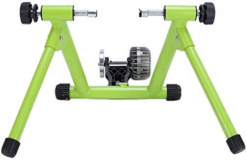 GGGKLY Roller voor fietstraining, loopfiets, platform voor fiets, school, paardrijden, met vloeistofweerstand, magnetisch, krachtweerstand, op straten en mountainbikes