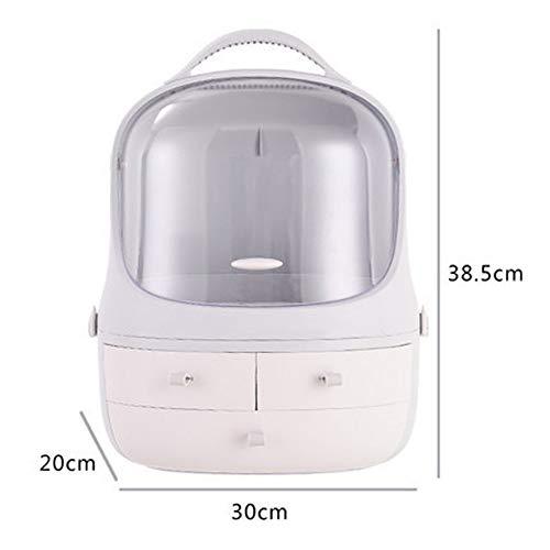 Cosmetische opbergdoos, slaapzaal Desktop stof-Proof Eenvoudige Huishoudelijke Make-up Box Dressing Tafel Huidverzorging Producten Rack stijlnaam size 4