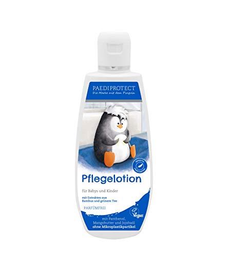 PAEDIPROTECT Pflegelotion für Babys & Kinder (1x250ml), ohne Mikroplastikpartikel, ohne Parfüm, vegan