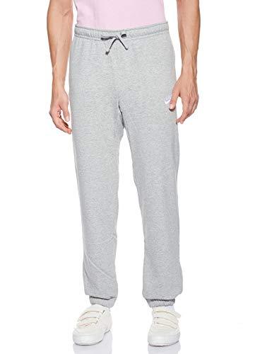 Nike Sportswear Club Pant CF FT Pantalon Homme, Dark Grey HeatherWhite, FR (Taille Fabricant : XL)