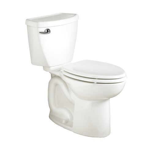 American Standard 270CA001.020 Cadet 3 Elongated Two-Piece Toilet with 12-Inch Rough-In, White