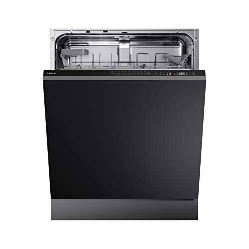 Teka | Lavavajillas A++ para 14 cubiertos con tercera bandeja y 9 programas de lavado | Negro | 81.8 x 59.8 x 55