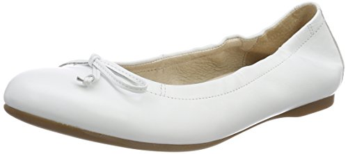 Gabor Shoes Damen Gabor Casual Geschlossene Ballerinas, Weiß (Nappa), 42 EU (8 UK)
