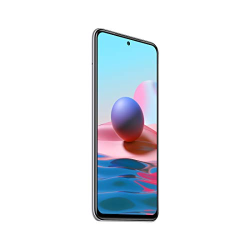 Redmi Note 10 (Frost White, 6GB RAM, 128GB Storage) - Super Amoled Display | 48MP Sony Sensor IMX582 | Snapdragon 678 Processor
