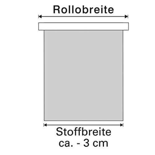 Kirsch Innovation - Elektrisches Rollo 45x150 cm Schiefer