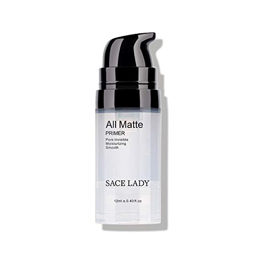 SACE LADY Invisible Pore Foundation Primer All Matte Face Primer, Oil- control and Smooth Face...
