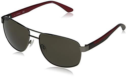 Calvin Klein EYEWEAR CK20319S-008 Gafas, Matte Gunmetal/Solid Warm Smoke, 60-17-140 para Hombre