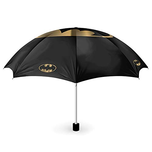 empireposter Batman - Bat and Gold - Regenschirm - Fanartikel - Umbrella - Maße offen Ø 99 cm