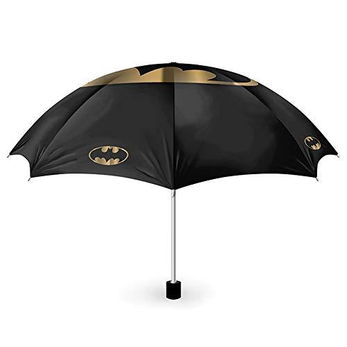 empireposter Batman - Bat and Gold - Regenschirm - Fanartikel - Umbrella - Maße offen Ø 99 cm