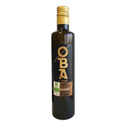 Biologische extra vierge olie (maagd), mild, fruitig, heerlijk Biologische teelt 100% Picuial-olijven- koud geperst en betaalbaar extra vierge olijfolie voor uw keuken 500 ml (500 ml)