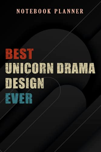 Notebook Planner I'll Get Over It - Best Unicorn Drama Design EVER - NEW 2021 graphic: 6x9 in ,Money,Budget,Do It All,Passion,Small Business,High Performance