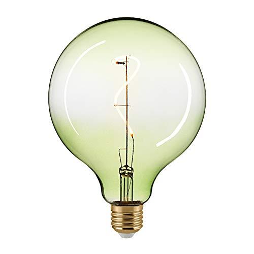 Globe a LED orientale GL125 mm GIZEH VERDE E27 4 W 160 lm 2200 K dimmerabile
