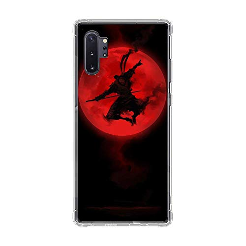 Ultra-Thin Clear Transparent Soft TPU Case Cover for Samsung Galaxy Note 10 Pro-Japan The Samurai-Ninja 4