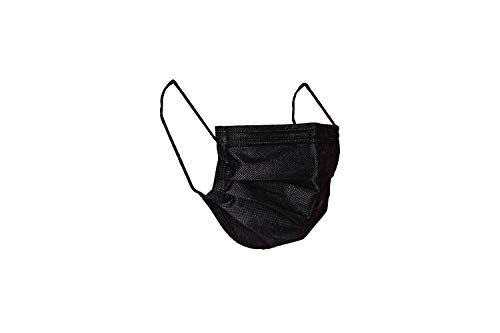 MASCHERINE VENETE - 100 mascherine chirurgiche confezionate in pacchetti da 10 mascherine (NERO)