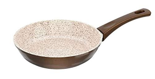 Genius Auswahl Granit Serie Crepes-Pfanne, Bratpfanne, Wok-Pfanne, Grillpfanne, Bräter, Töpfe (Bratpfanne 20cm)